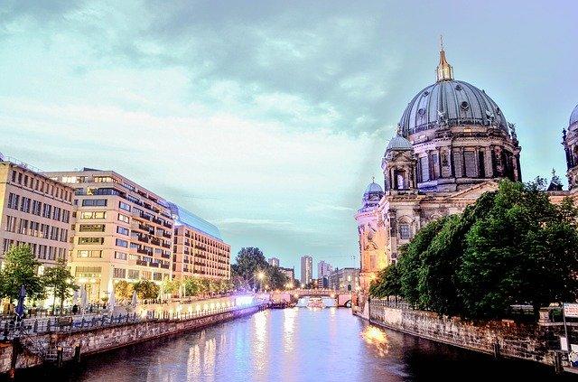 Die Spree in Berlin